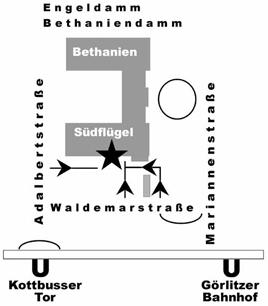 Karte-Bethanien